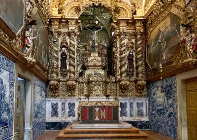 Altar der Kirche Sao Francisco in Èvora.